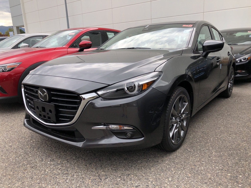 new 2018 mazda mazda3 sport gt sedan in kelowna 538 4353. Black Bedroom Furniture Sets. Home Design Ideas