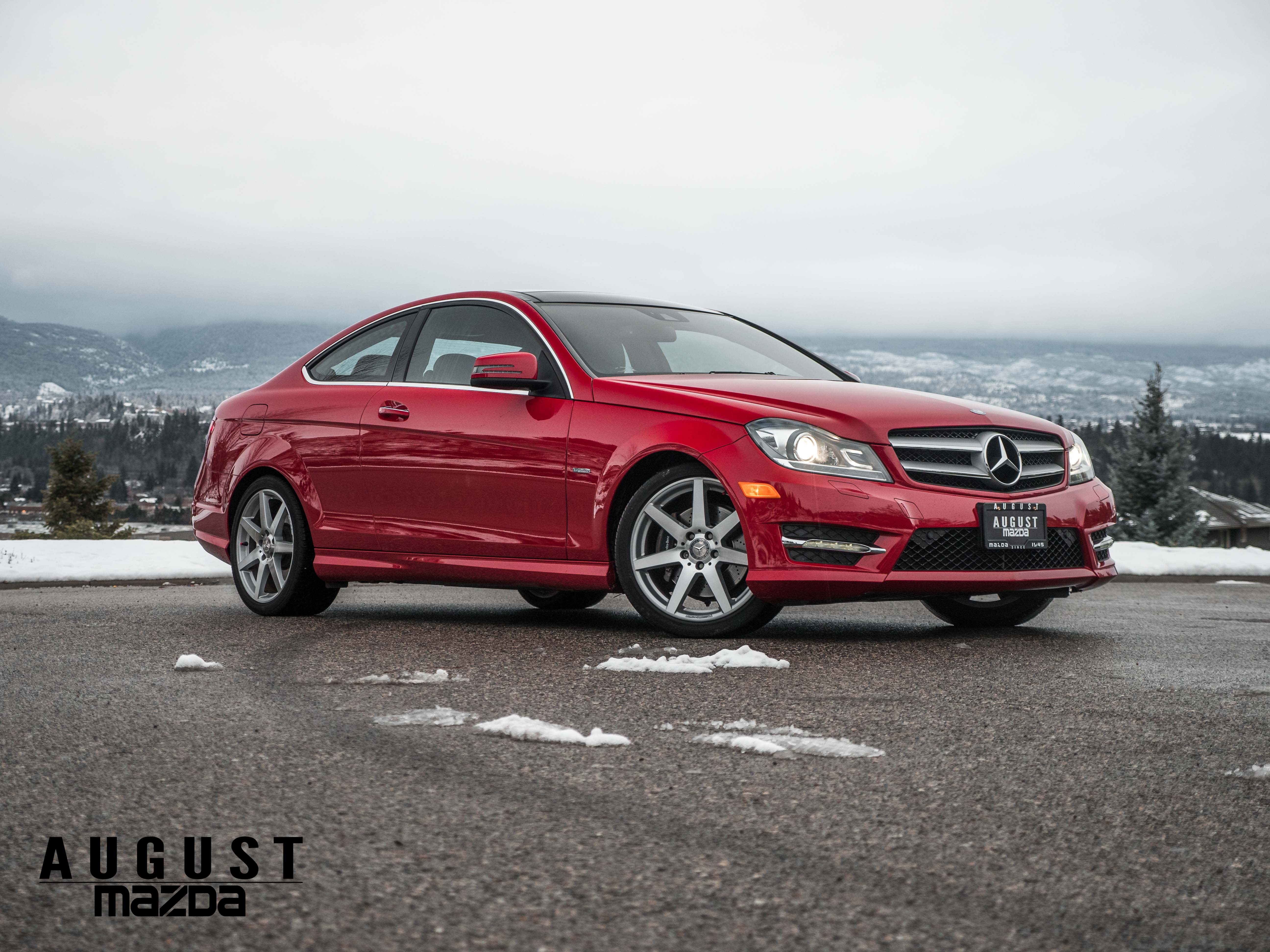 Pre-Owned 2012 Mercedes-Benz C-Class C 350 4MATIC