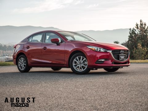 Pre-Owned 2017 Mazda 3 GS