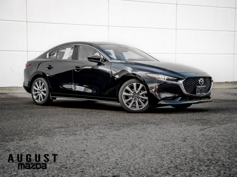 New 2020 Mazda3 GT With Navigation & AWD