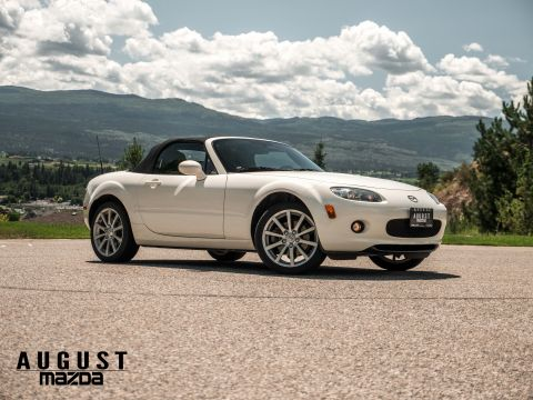 Pre-Owned 2007 Mazda Miata Touring Rear Wheel Drive 2 Door Convertible